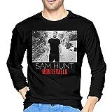 LilianR Sam Hunt Montevallo Mens Long Sleeve Tshirts Black M