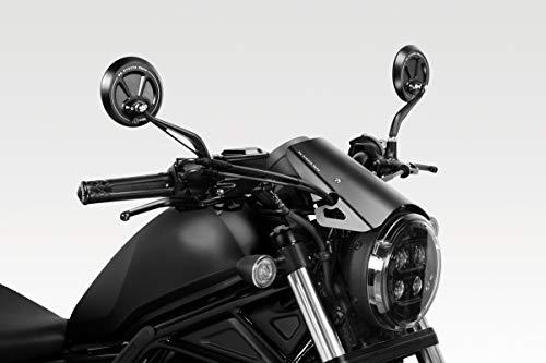 CMX500 / CMX300 Rebel 2020 - Kit Carenabris 'Exential' (S-0810) - Parabrisas Lunas Cúpula de Aluminio - Tornillería Incluido - Accesorios De Pretto Moto (DPM Race) - 100% Made in Italy