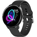 PHIPUDS Smartwatch Orologio Fitness Uomo Donna Fitness Tracker Contapassi Calorie Cardiofrequenzimetro da Polso Impermeabile IP68 Smart Watch con Cronometro Notifiche Messaggi per Android iOS