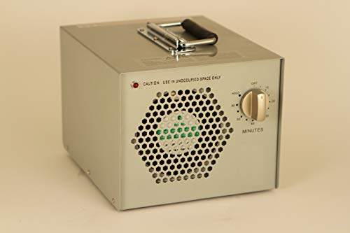 CleanAir Industrial Ozone Generator 4,000mg (4G) Air Cleaner Deodorizer Ionizer Purifier, with 60 Minute Timer and Hold Option