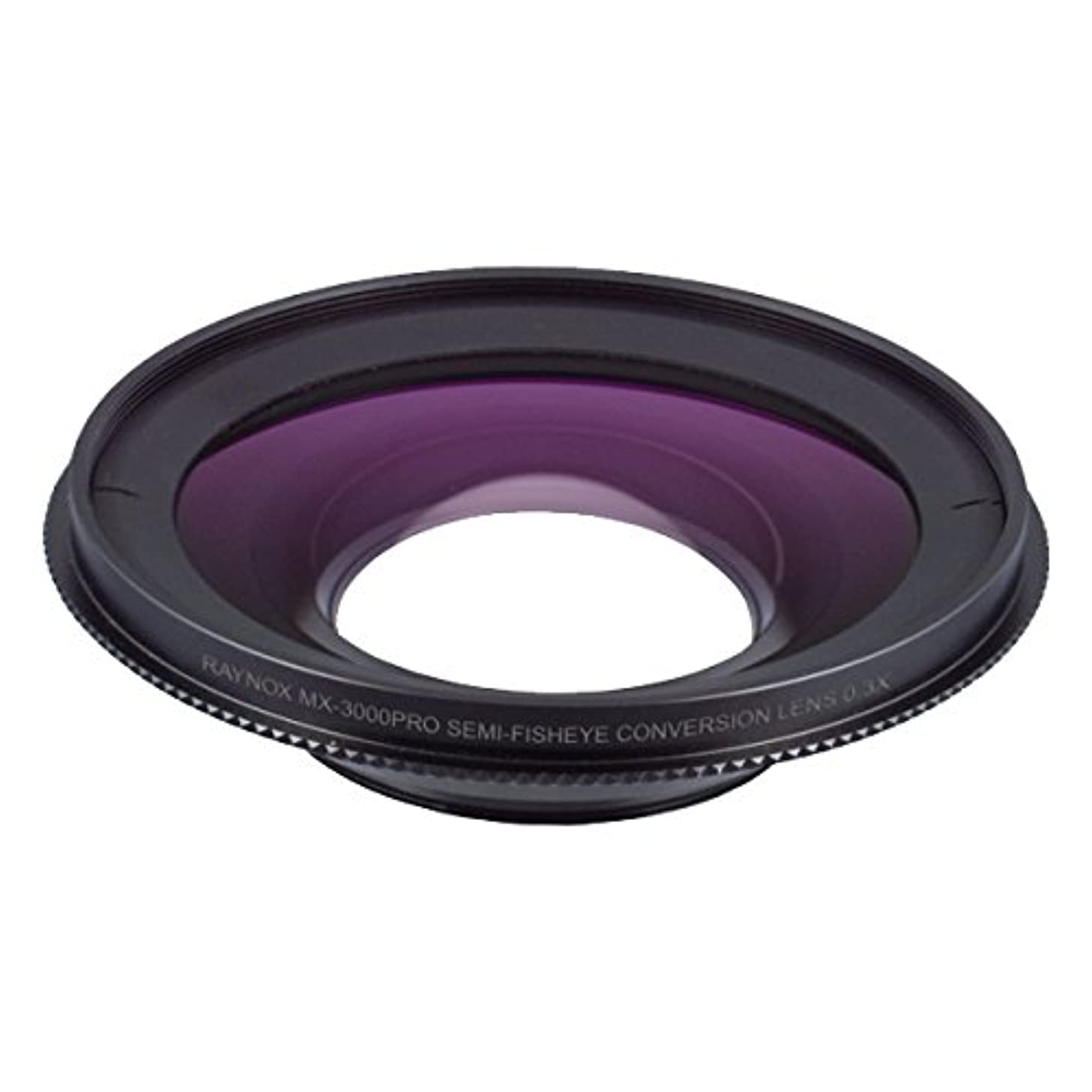 Raynox MX-3000PRO 0.3x Semi-Fisheye Ultra-Wide-angle Lens Attachment, Compatible with Canon XA20 Canon XA25