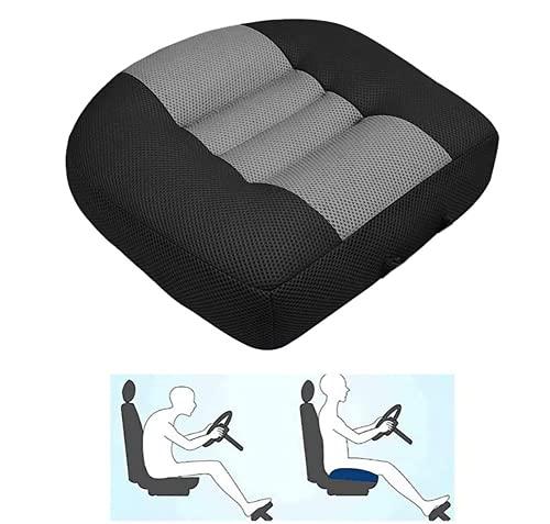 YRBDSA sitzerhöhung Auto, ergonomisches Sitzkissen, vielseitiges Keilkissen mit hohem Sitzkomfort, Sitzkeilkissen ideal als Stuhlkissen im Büro oder Home Office, Sitzkissen im Auto & auf Reisen