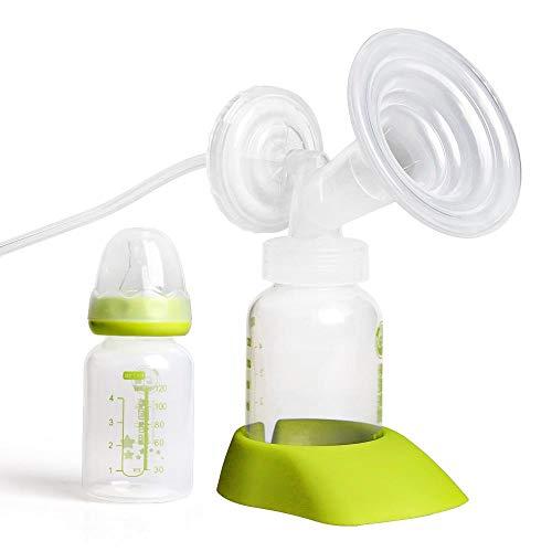 Mezzeno Elettropompa doppio seno con confezione regalo per alimentazione 30 pz Borse per la conservazione del latte materno + Reggiseno per alimentazione + 6 pz Cuscino per allattamento