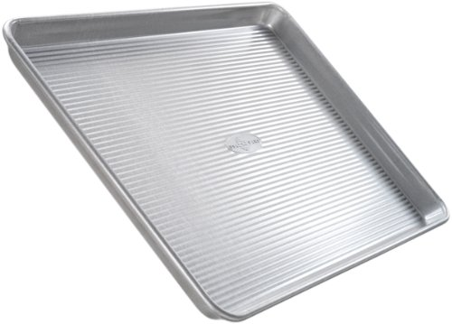 USA Pan Bakeware Quarter Sheet Pan, Warp Resistant Nonstick Baking Pan, Made in the USA from Aluminized Steel