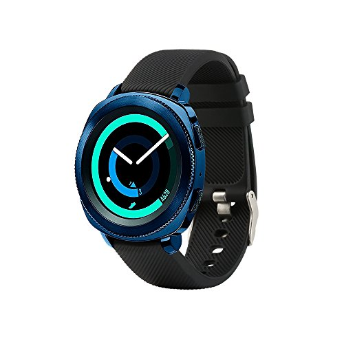 Tkasing 20mm Silicone Watch Band Replacement Strap Fitness Wristband for Samsung Gear Sport,for Samsung Gear Sport/Gear S2-Classic Bands/Huawei Watch 2 /Garmin Vivoactive 3 Band Strap (Black)