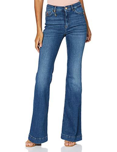 Trussardi Jeans Damen Jeans, Indigo, 26
