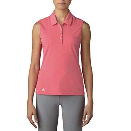 adidas Essentials Polo de Golf, Mujer, Rosa, L