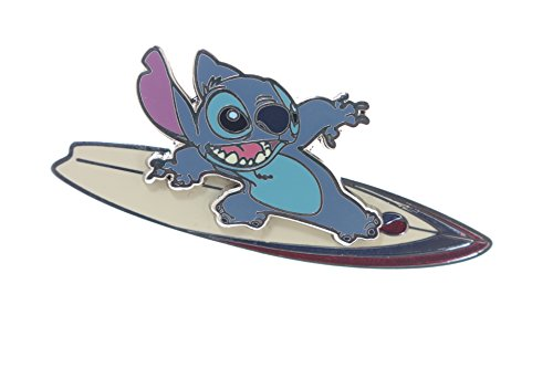 Disney Cast Lanyard Series 3 - Stitch on a Surfboard Pin