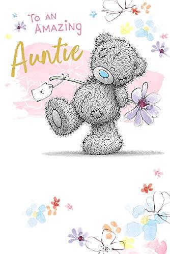 Auntie Birthday Me To You Bear Tatty Teddy Carte Blanche Birthday Card