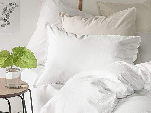 ESSIX Softline Taie d'oreiller, Cotton, Beige, 65 X 65cm