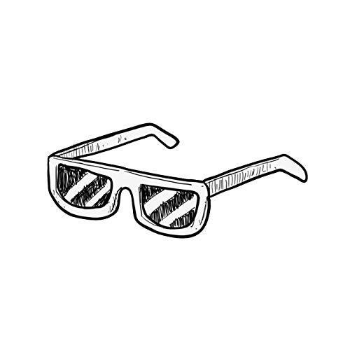 Gafas de sol estilo piloto retro de gran tamaño, sin montura, con parte superior plana y envolvente, gafas con bloqueo anti-azul