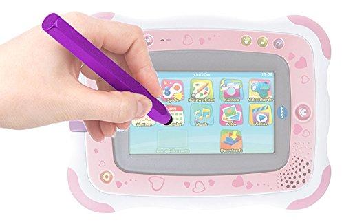 DURAGADGET Stylet Forme Crayon Violet Compatible avec Console Vtech Storio 2 (136855-136805) Jeu éducatif électronique pour Enfants - Garantie 2 Ans