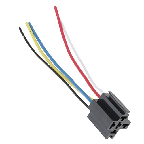 40A Conector De Arnés De Zócalo De Relé De Cable De 5 Pines Cable ...