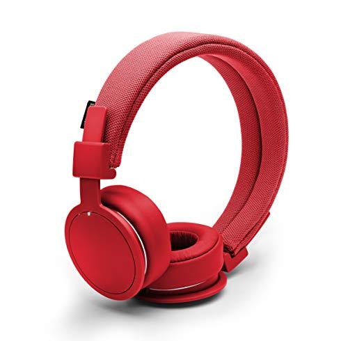 Urbanears PLATTAN ADV - Auriculares con Diadema (Bluetooth, 98 dB, Conector de 3.5 mm), Color Rojo