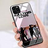 YAOYANG LY-135 Blackpink Kill This Love Diseñado para iPhone 5 5s Vidrio Templado TPU A Prueba de...