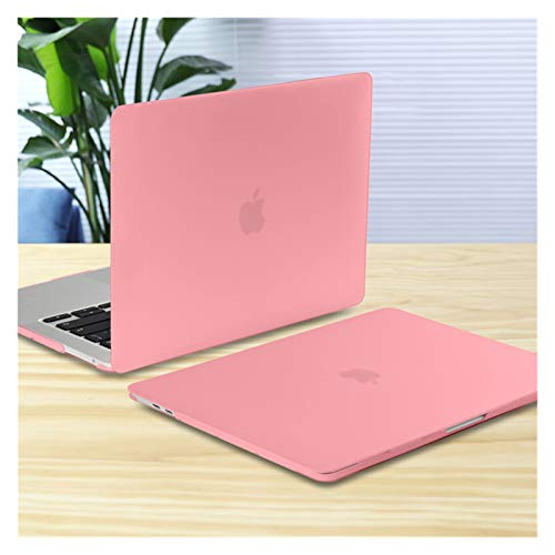 XXY For New MacBook Pro Air 11 12 13 15 16 Inch A2289 A2179 A2337 Matte Clear Laptop Case Keyboard Cover+Screen Film (Color : Matte Pink, Size : 11 inch)