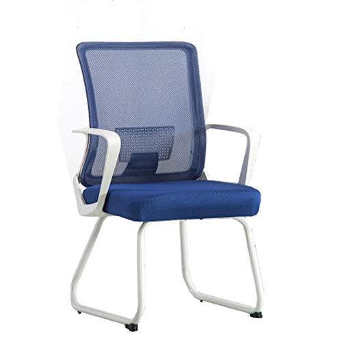 GW cantileverstoel met armleuning en meshbekleding, bureaustoel met vloerbeschermers, bezoekersstoel met hoogwaardige bekleding en kunstleren bekleding, wachtkamerstoel met robuust metalen frame, C