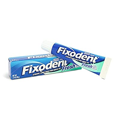 Special Pack of 5 PROCTER and GAMBLE DIST. FIXODENT FRESH CREAM 2.4 oz