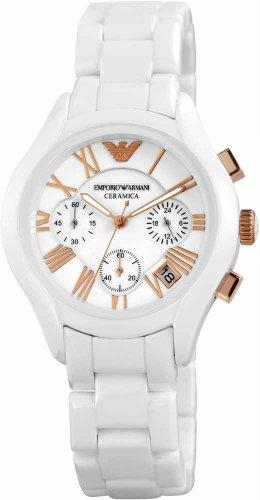 Emporio Armani Damen-Armbanduhr Ceramics Chronograph Quarz Keramik AR1417