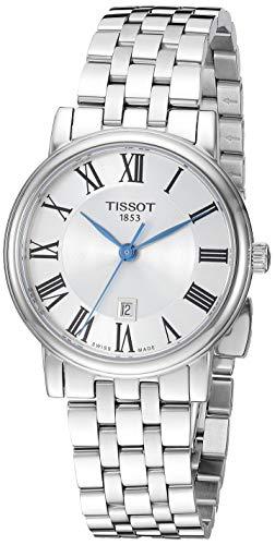 Tissot orologio Carson Premium Lady T-Classic 30mm acciaio quarzo T122.210.11.033.00