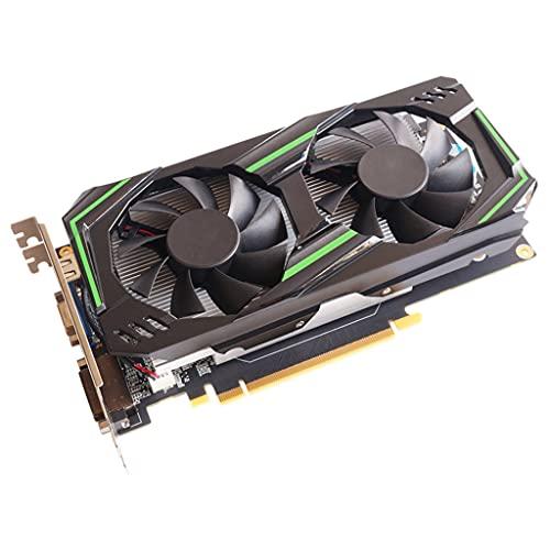 Valcano Tarjeta gráfica NVIDIA GTX 750Ti 6 GB GDDR5 192 bits PCIE 3.0 compatible con HDMI, interfaz DVI-D con doble ventilador