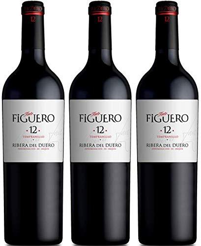 Vinos Figuero (Figuero 12,Vino tinto,vino Ribera del Duero, 2250ml)