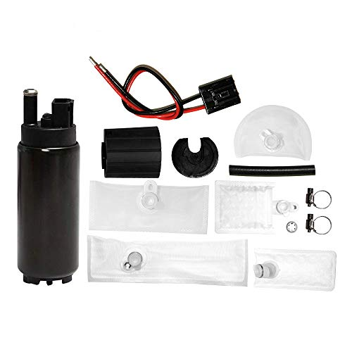 GSS342 255 LPH High Flow Pressure Electric Intank Fuel Pump with Installation Kit