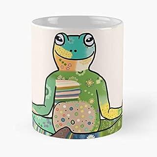 Frog Yoga Meditation Charisma Funny Christmas Day Mug Gifts Ideas For Mom - Great Ceramic Coffee Tea Cup