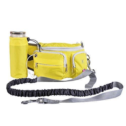 Roblue Hund Futter Tragetasche Bauchtasche Training Futtertasche Hüttetasche Haustier Outdoor Abnehmbare Tasche
