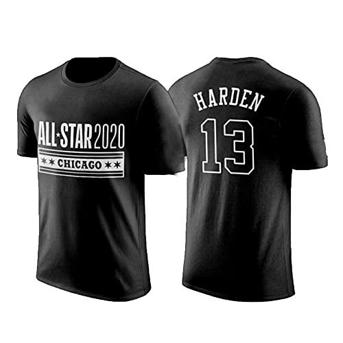 USSU Basketball Jersey Rǒckěts HǎRDěN 13# Camisetas para Hombres Deportes Fan Jerseys Entrenamiento Uniforme juventuro Casual Top Hip Hop Ropa para Fiesta, Anti-Color, d M