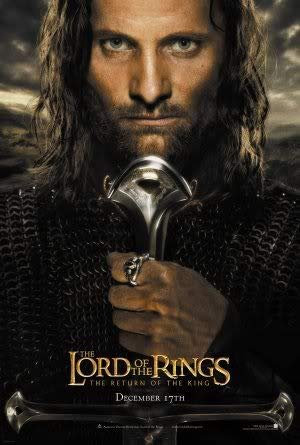 Lord of The Rings Return of The King - Aragorn – Film Poster Plakat Drucken Bild – 43.2 x 60.7cm Größe Grösse Filmplakat