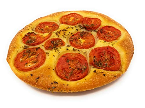 Baked in Brooklyn - Fresh Baked Focaccia - 3 Pies - All Natural Ingredients - Made Fresh per Order - Fully Cooked - Frank and Sal Bakery