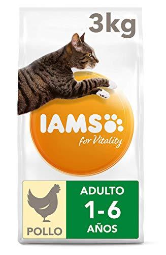 IAMS for Vitality Alimento para Gato Adulto con pollo fresco [3 kg]