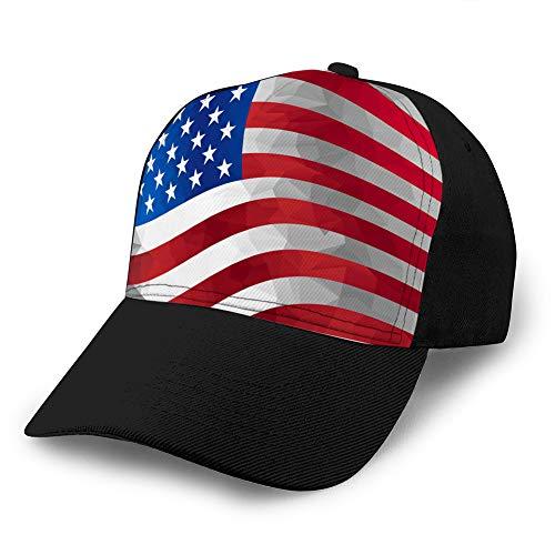 jiilwkie 352 Denim Baseball Cap für Männer Frauen kennzeichnen Uns Fitted Hat