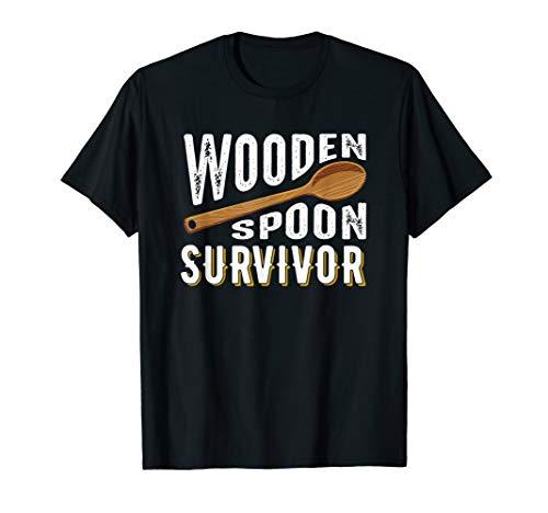 Wooden Spoon Survivor Champion T Shirt Funny Gift T-Shirt