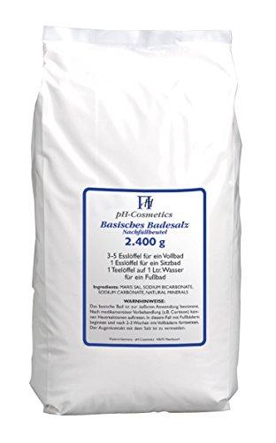 ph-cosmetics Basisches Badesalz Nachfüllpack 2400 g,