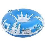 Seacanl Tabla de esquí Inflable Resistente a la fricción con Tratamiento Resistente al frío, Tabla de esquí Flotante portátil, para niños y Adultos Hombres Mujeres