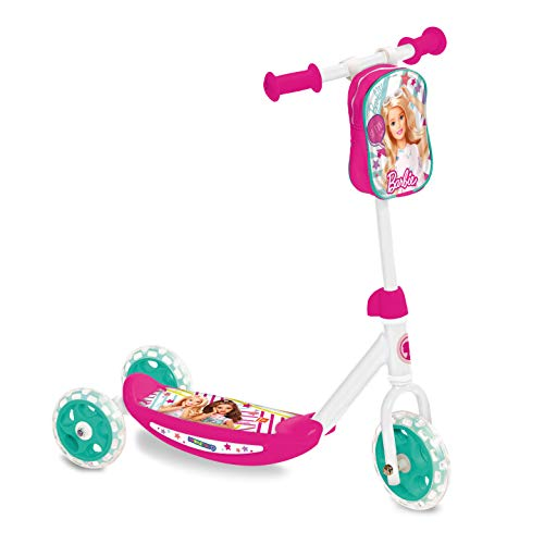 Mondo 28184 - My First Scooter Barbie, Monopattino Baby, 3 Ruote