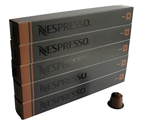 NESPRESSO ネスプレッソ カプセル コーヒー コズィー 1本10カプセル×5本セット [並行輸入品]