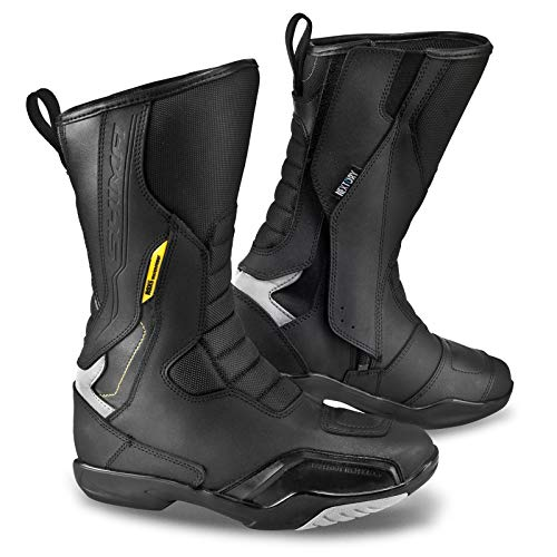 Shima RSX-5 Lady Black, Women Protective Classic Road Sports Leather Motorcycle Boots (37, Black)