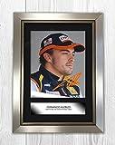 Engravia Digital Fernando Alonso (3) Poster Signed
