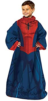 Marvel Kids' Spider-Man Wearable Throw Blanket with Sleeves