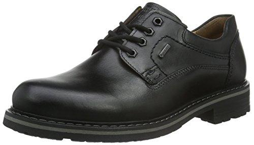 FRETZ men Scooter, Zapatos de Cordones Derby Hombre, Negro 51 Noir, 48 EU