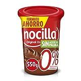 Nocilla Original 0% Azúcares Añadidos - Sin Aceite de Palma - 550g