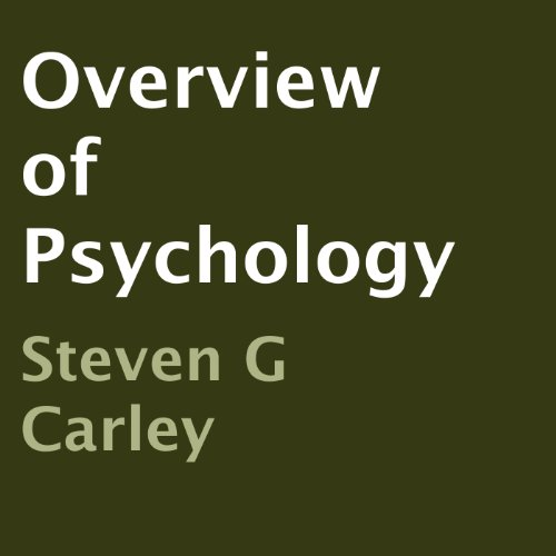 Overview of Psychology audiobook cover art