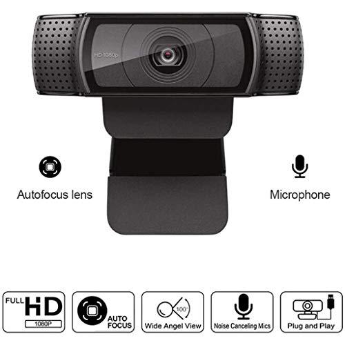 XIALIUXIA HD Pro Webcam, 1080P Breitbild Videoanruf Und Aufzeichnungskamera Für Desktop Und Laptop Webcam