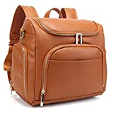 Beaulyn Diaper Bag Backpack, 5-in-1 Beaulyn Leather Travel Back Pack Large...