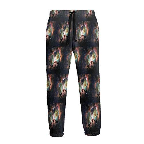 Gafas de Sol Space Cat Pantalones de Chándal Athletic Jogger Pant Athletic Pant Running Pantalones para Hombres XXL