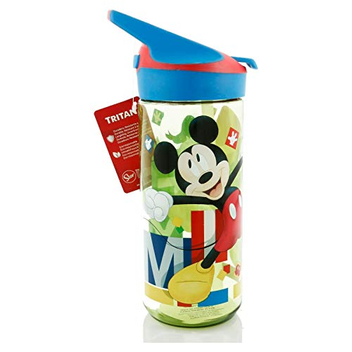 Stor Botella TRITAN Premium 620 ML | Mickey Mouse - Disney - Watercolors