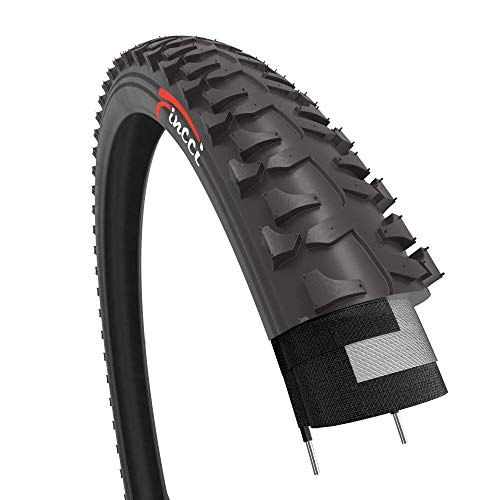 Fincci 20 x 1.75 Inch 47-406 Tyre for BMX MTB Mountain Offroad or Kids Childs Bike Bicycle
